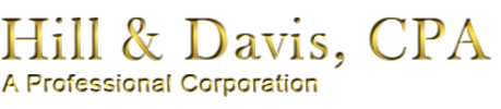 Hill and Davis, CPA - A Professional Corporation